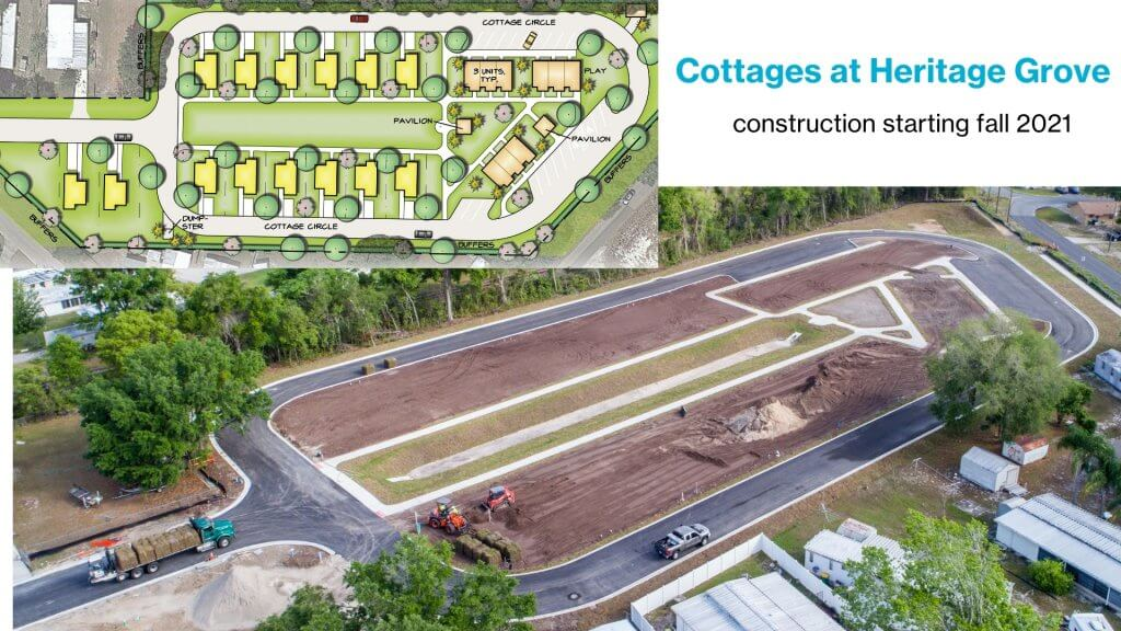 The Cottages at Heritage Grove July 2021 Update