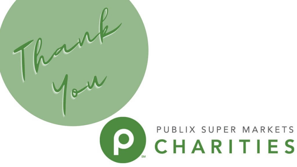 Thank You Publix Super Markets Charities 2021